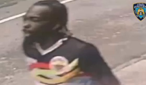 New York City police released video of a man suspected of being the gunman in Saturday's shooting in Times Square.