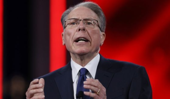 Wayne LaPierre, CEO of the National Rifle Association, addresses the Conservative Political Action Conference on Feb. 28, 2021, in Orlando, Florida.