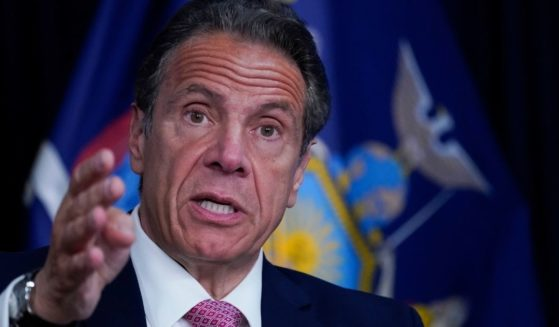 New York Gov. Andrew Cuomo speaks during a news conference on May 10, 2021, in New York City.