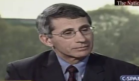 """Dr. Anthony Fauci appears on the C-SPAN show """"Washington Journal"""" in 2003, sharing research on the source of Severe Acute Respiratory Syndrome, as well as the efforts to combat it."""