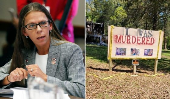 Former Mississippi state Rep. Ashley Henley, left, was found shot to death on Sunday in a rural area, right, outside the burned home where her sister-in-law was found dead after Christmas.