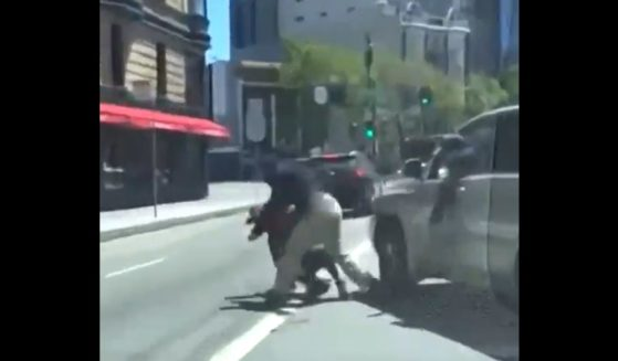 An Asian-American UPS delivery driver is attacked in San Francisco.
