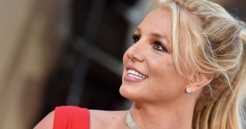 """Britney Spears attends Sony Pictures' """"Once Upon a Time ... in Hollywood"""" Los Angeles Premiere on July 22, 2019, in Hollywood, California."""