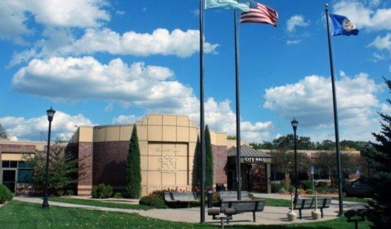 City Hall in Burnsville, Minnesota, is seen in 2013.