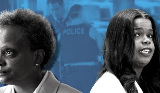 Democratic Chicago Mayor Lori Lightfoot, left, is pictured alongside Cook County State's Attorney Kim Foxx. A veteran of Chicago's suburbs and spokeswoman for the National Police Association spoke with The Western Journal in an exclusive interview concerning Chicago's murder crisis.