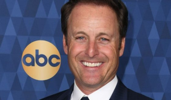 """Chris Harrison promotes """"The Bachelor"""" during a media event in Pasadena, California, on Jan. 8, 2020."""