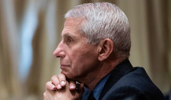 Dr. Anthony Fauci, director of the National Institute of Allergy and Infectious Diseases, listens during a Senate Appropriations Labor, Health and Human Services Subcommittee hearing on Capitol Hill in Washington on May 26.