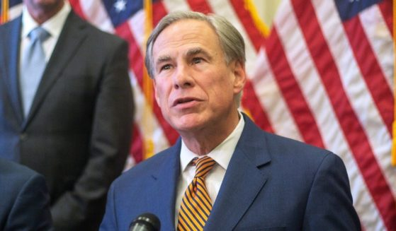 Texas Gov. Greg Abbott attends a news conference in Austin, Texas, on Tuesday.