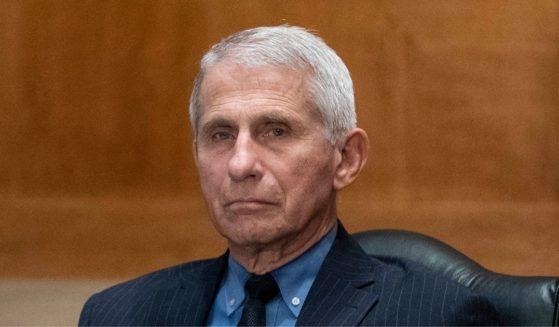 Dr. Anthony Fauci, director of the National Institute of Allergy and Infectious Diseases, listens during a Senate Appropriations Labor, Health and Human Services Subcommittee hearing on Capitol Hill on May 26, 2021, in Washington, D.C.