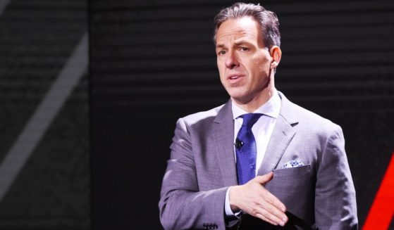 Jake Tapper of CNN's The Lead with Jake Tapper and CNN's State of the Union with Jake Tapper speaks onstage during the WarnerMedia Upfront 2019 show at The Theater at Madison Square Garden on May 15, 2019, in New York City.