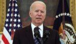 President Joe Biden speaks at the White House on Wednesday in Washington, D.C.