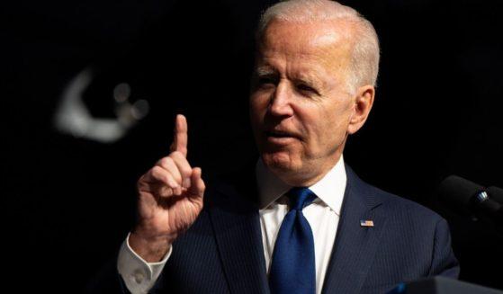 President Joe Biden speaks at a rally on June 1, 2021, in Tulsa, Oklahoma.
