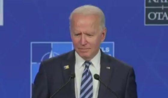 """When asked Monday about his past comment branding Russian leader Vladimir Putin as a """"killer,"""" President Joe Biden hemmed, hawed and was silent."""
