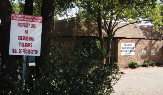 A Planned Parenthood clinic in Lubbock, Texas, is seen above.