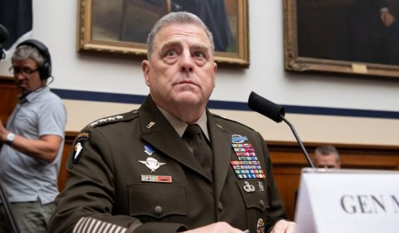 Gen. Mark Milley, chairman of the Joint Chiefs of Staff, testifies during a House Armed Services Committee hearing on Capitol Hill in Washington, D.C., on Wednesday.