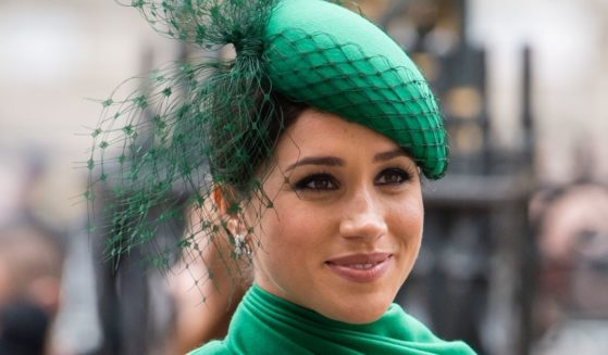 Meghan Markle attends the Commonwealth Day Service on March 9, 2020, in London.