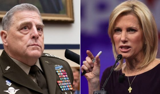 At left, Gen. Mark Milley, chairman of the Joint Chiefs of Staff, testifies during a House Armed Services Committee hearing on Capitol Hill in Washington on Wednesday. At right, talk show host Laura Ingraham speaks during CPAC in National Harbor, Maryland, on Feb. 28, 2019.