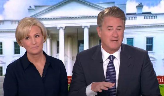 "MSNBC host Joe Scarborough speaks Tuesday on ""Morning Joe."""