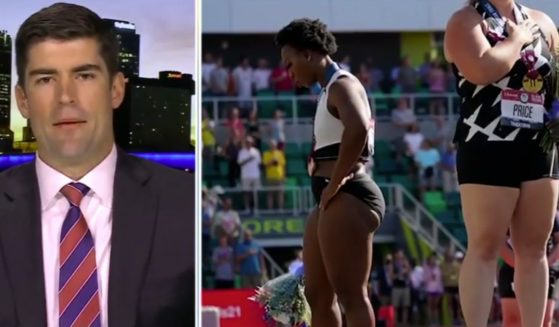 A former NFL player and retired U.S. Army Ranger criticized the Biden administration for sticking up for anti-American Olympian Gwen Berry, who turned her back on the American flag this past weekend during the U.S. Olympic trials.