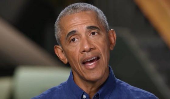 Former President Barack Obama speaks on CNN.