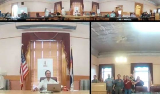 One mayor he got an earful of outrage from the residents of a small mountain town during the public comments portion of a board of trustees meeting.