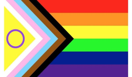 """An updated LGBT """"Pride"""" flag was unveiled this week."""