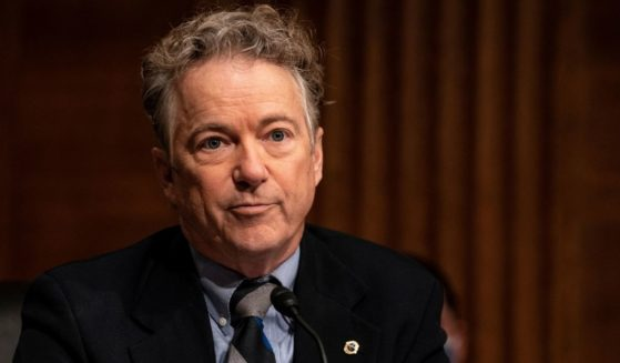 Republican Sen. Rand Paul of Kentucky speaks during a Senate Health, Education, Labor and Pensions Committee hearing on the nomination of Miguel Cardona to be education secretary on Capitol Hill on Feb. 3, 2021, in Washington, D.C.