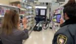 KGO-TV reporter Lyanne Melendez shared a video taken of a man who entered a San Francisco Walgreens with a bag, filled it with various products and left the store without paying.