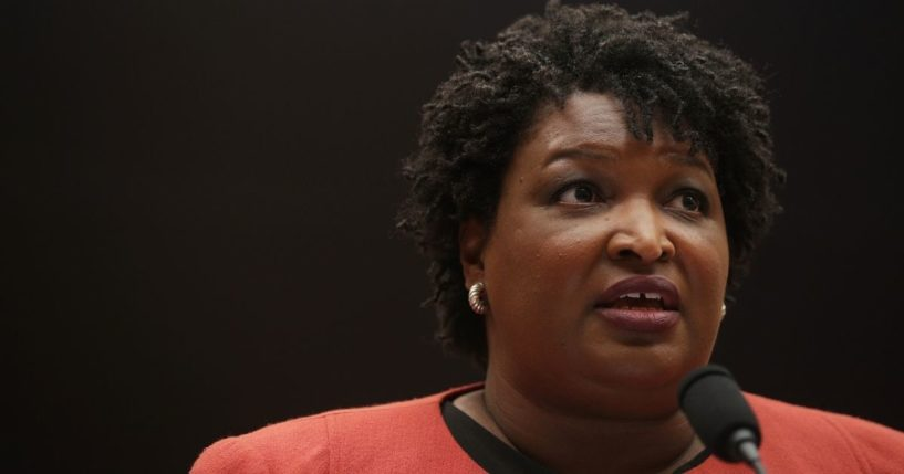 Former Democratic Georgia state Rep. Stacey Abrams testifies during a hearing before the Constitution, Civil Rights and Civil Liberties Subcommittee of House Judiciary Committee on June 25, 2019, on Capitol Hill in Washington, D.C.