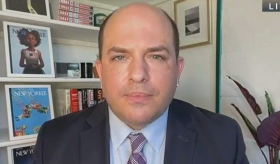 "CNN host Brian Stelter appears on C-SPAN's ""Washington Journal"" on Thursday."