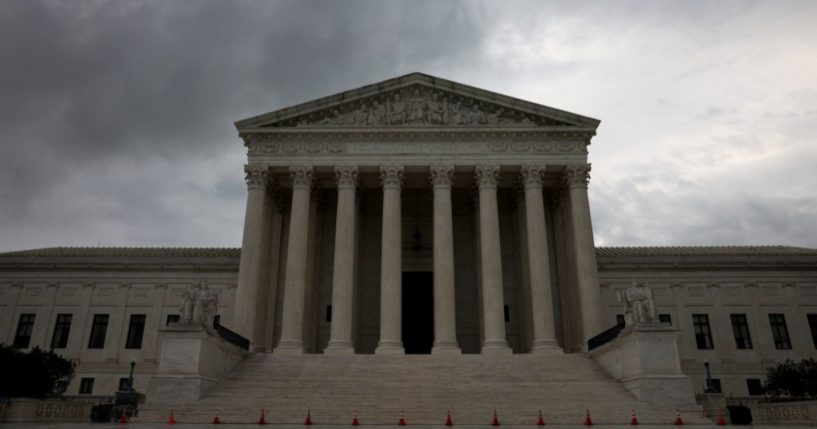The U.S. Supreme Court is shown on Tuesday in Washington, D.C.
