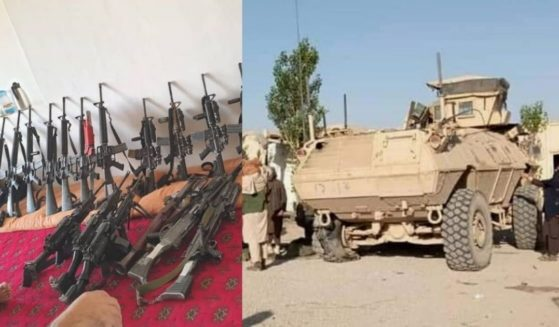 Taliban spokesman Zabiullah Mujahid announced on Twitter that Taliban fighters overran government security forces this week in the Maidan Wardak Province.