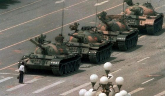 An iconic image from June 5, 1989, didn't seem to appear in various search engines on Friday, the anniversary of the student-led Beijing protests.