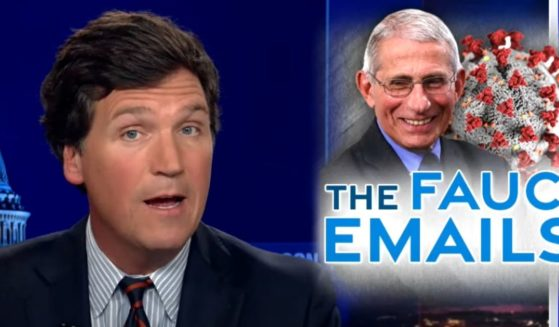 """Fox News host Tucker Carlson talks about the scandal surrounding Dr. Anthony Fauci's newly released emails on """"Tucker Carlson Tonight."""""""