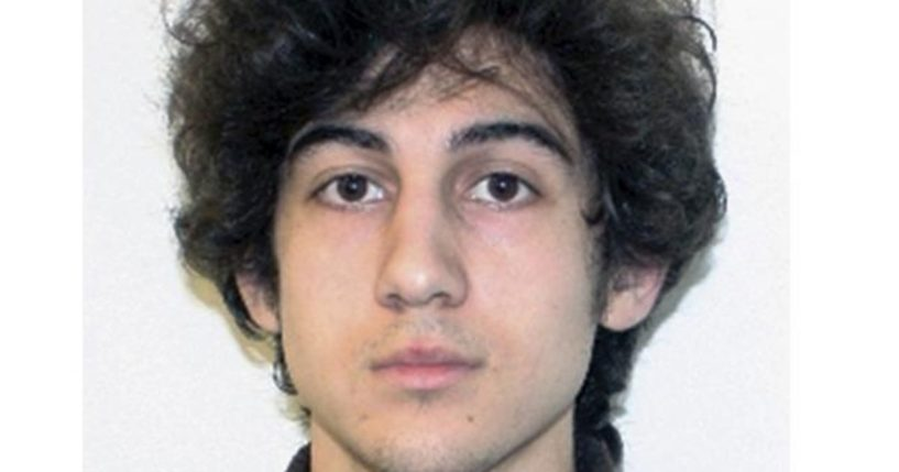 This file photo released April 19, 2013, by the Federal Bureau of Investigation shows Dzhokhar Tsarnaev, convicted for carrying out the April 15, 2013, Boston Marathon bombing attack that killed three people and injured more than 260.
