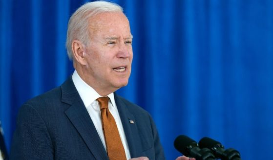 President Joe Biden is pictured in a Friday photo in Rehoboth Beach, Delaware.