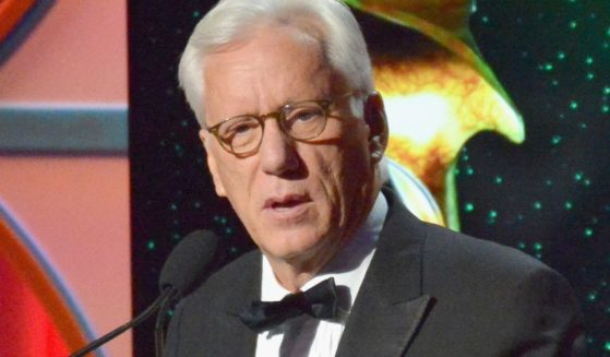 Actor James Woods pictured in a 2017 file photo.