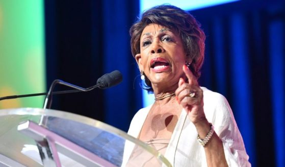U.S. Rep. Maxine Waters speaks on stage in a file photo from the 2019 Essence Festival in New Orleans.