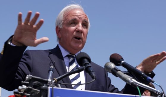U.S. Rep. Carlos Giminez, R-Fla., speaks at a news conference in a May file photo.