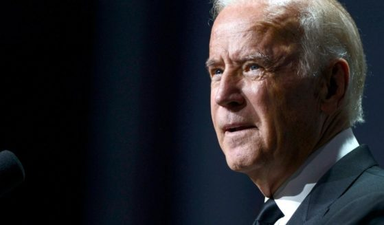 Then-Vice President Joe Biden speaks during the 19th Annual HRC National Dinner on Oct. 3, 2015, in Washington, D.C.