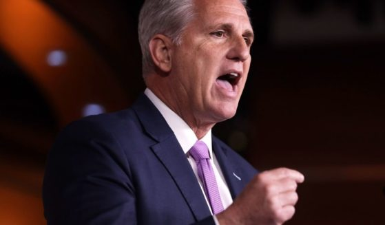 House Minority Leader Rep. Kevin McCarthy speaks during his weekly news conference Dec. 5, 2019, on Capitol Hill in Washington, D.C.