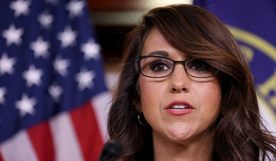 Colorado Republican Rep. Lauren Boebert speaks during a press conference at the U.S. Capitol June 23, in Washington, D.C.