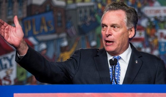 Former Democratic Virginia Gov. Terry McAuliffe speaks during the North American Building Trades Unions Conference at the Washington Hilton on April 10, 2019, in Washington, D.C.