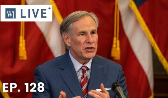 Texas Gov. Greg Abbott speaks at the Texas State Capitol on May 18, 2020, in Austin, Texas.