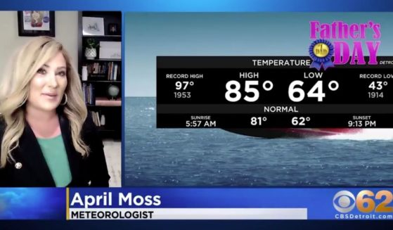 """April Moss of WWJ-TV in Detroit says on-air that she'll be sitting down with Project Veritas to discuss what she describes as """"discrimination"""" at CBS."""