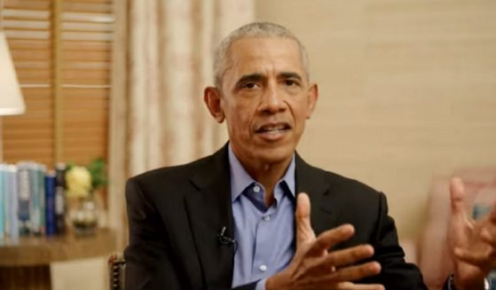 Former President Barack Obama is interviewed Friday at an event sponsored by The Economic Club of Chicago.