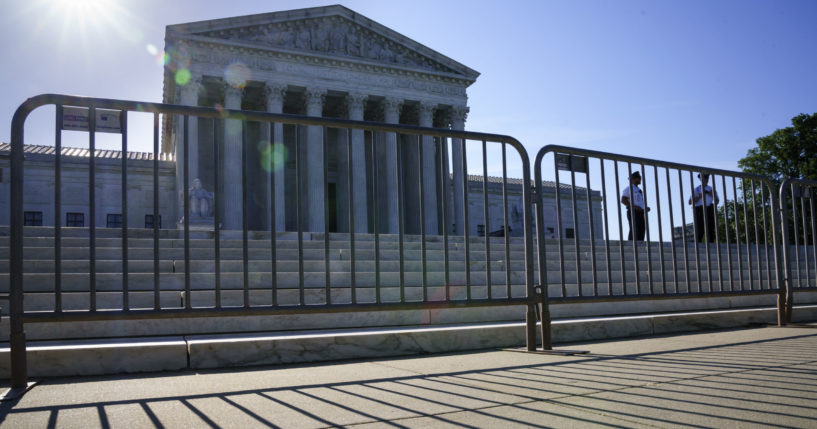 The Supreme Court is seen in Washington, D.C., on Tuesday.