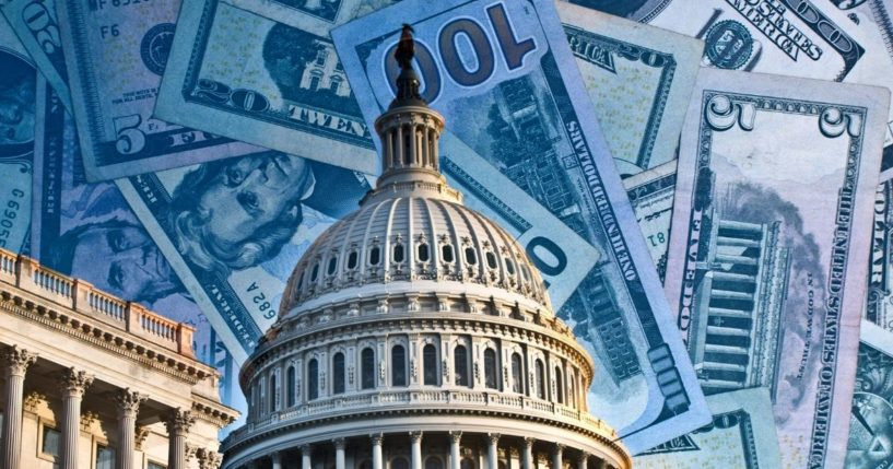 The U.S. Capitol is seen in this stock image.