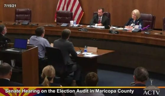 Republican Arizona state senators shared the findings of the Maricopa County presidential election audit during a hearing Thursday.