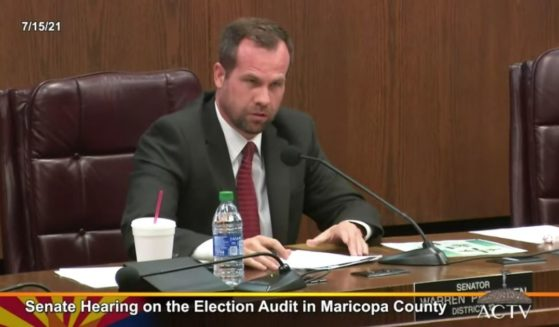 The Arizona Senate holds a hearing on the audit of the results of the November election.